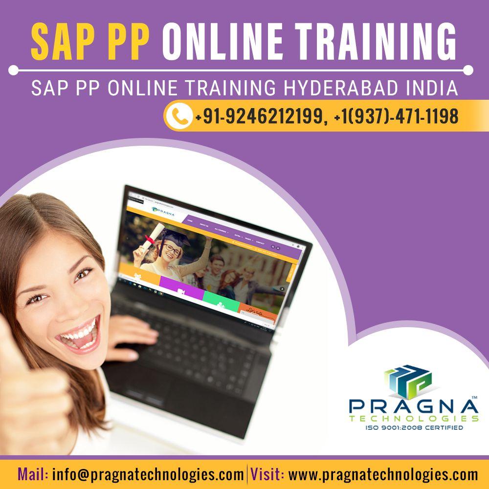 SAP PP Online Training Online training, Sap, Train