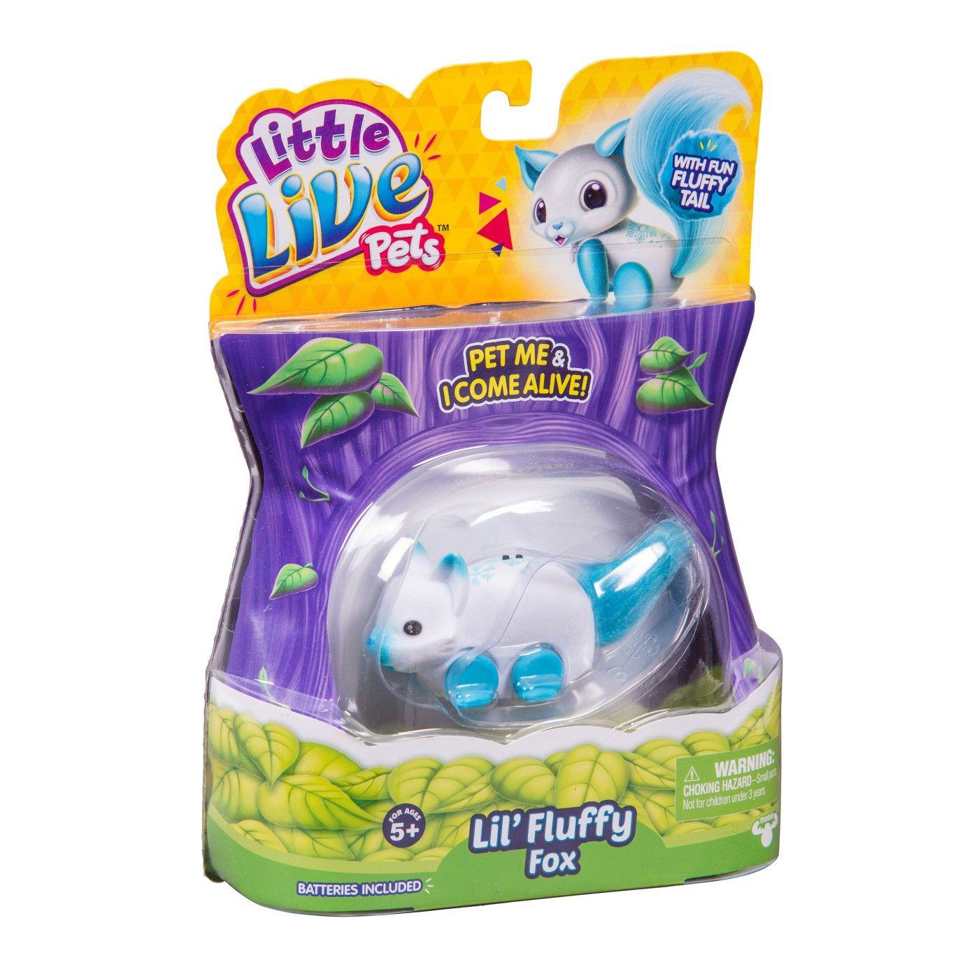 Little Live Pets Lil Fluffy Fox Frosty Fox Lil Pets Live