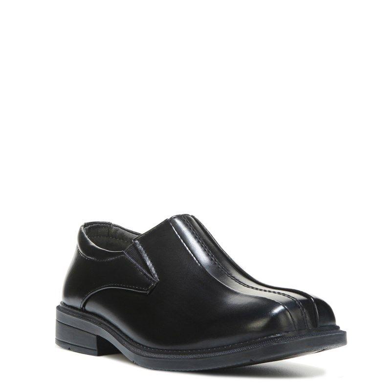 Deer Stags Kids' Wings Slip On Pre/Grade School Shoes (Black) -