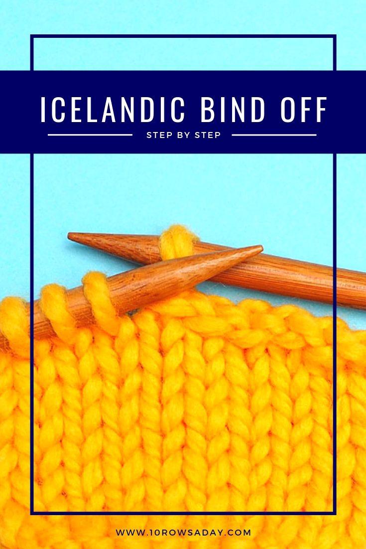 Icelandic Bind Off – Step by Step – Zukünftige Projekte