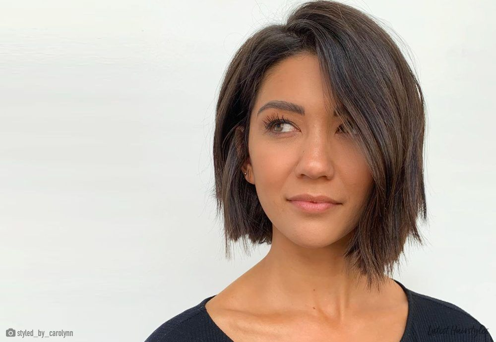 23 perfect examples of short haircuts for oval faces