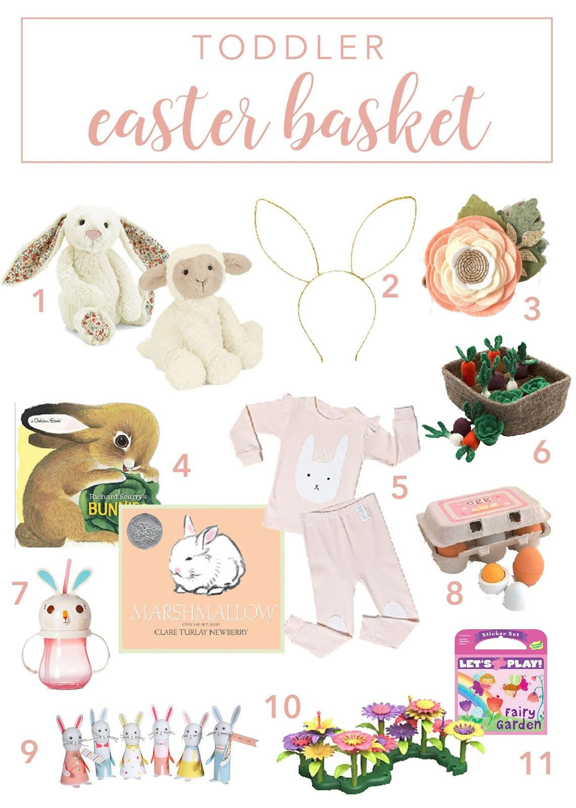 Photo of Toddler Easter Basket Ideas