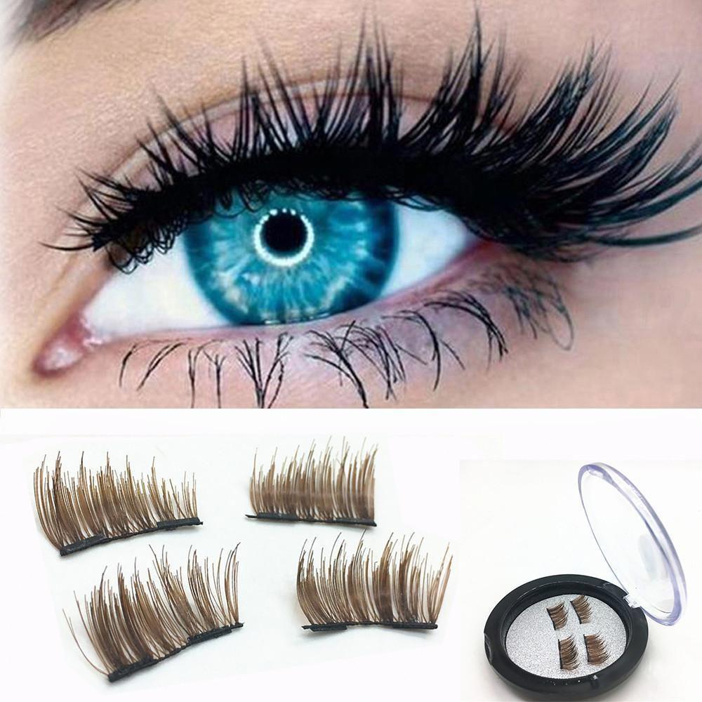Brand name fashion false eyelashe length under 05cm
