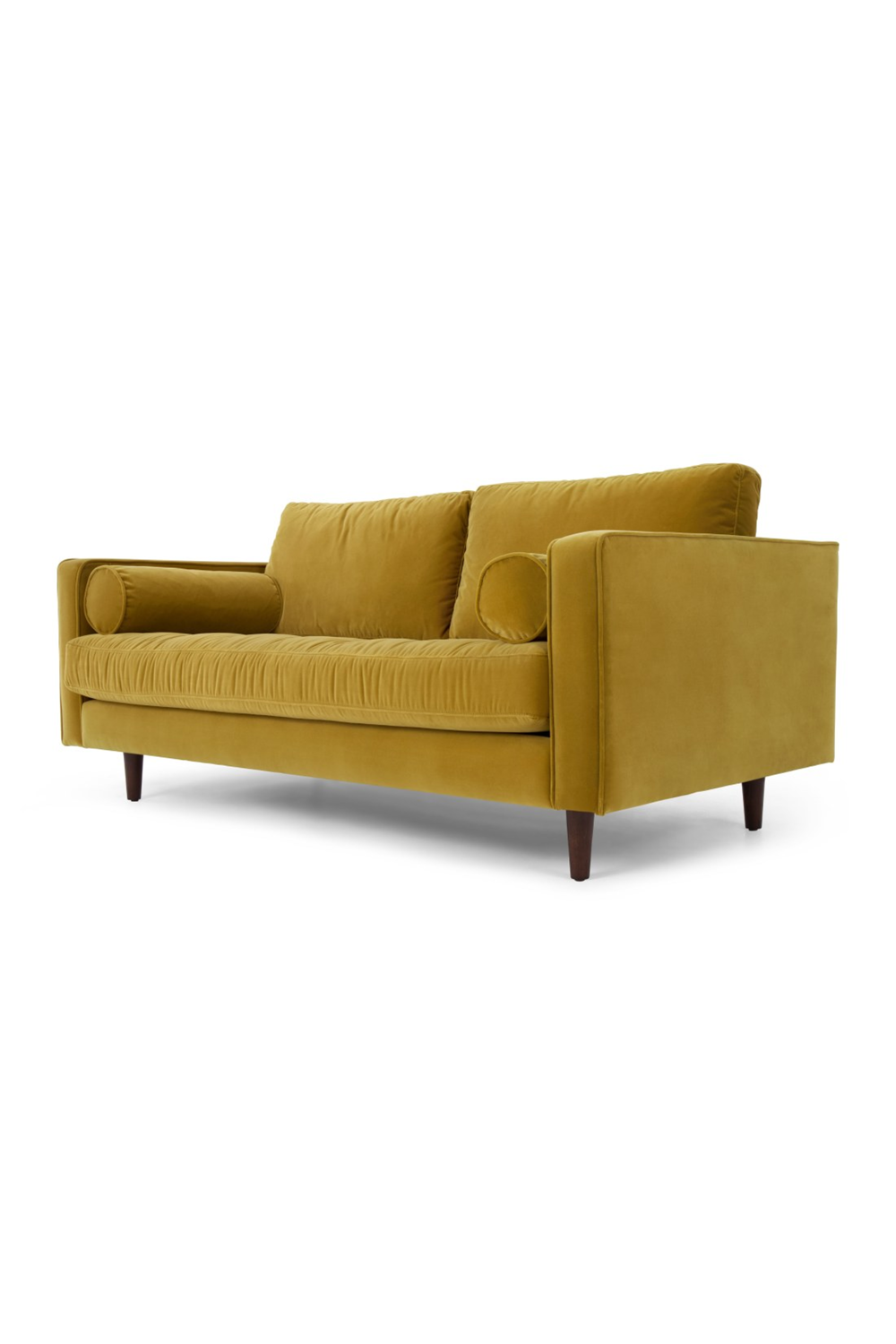 Scott 2 Sitzer Sofa Samt In Gold Sofa Home Decor Love Seat