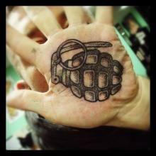 Big Tattoo Planet Black and Grey, Hands | Big Tattoo Planet
