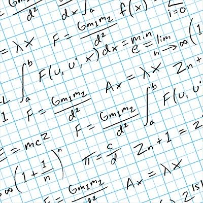 Equations gift wrap I have some friends that would LOVE it - graph paper sample