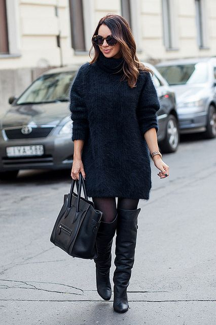 What a cosy outfit!