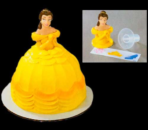 Disney Belle Cake Topper Birthday Cake Ideas Pinterest Belle