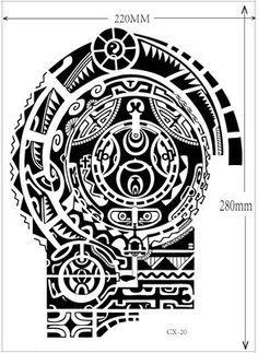17 Plantilla del tatuaje de dwayne johnson