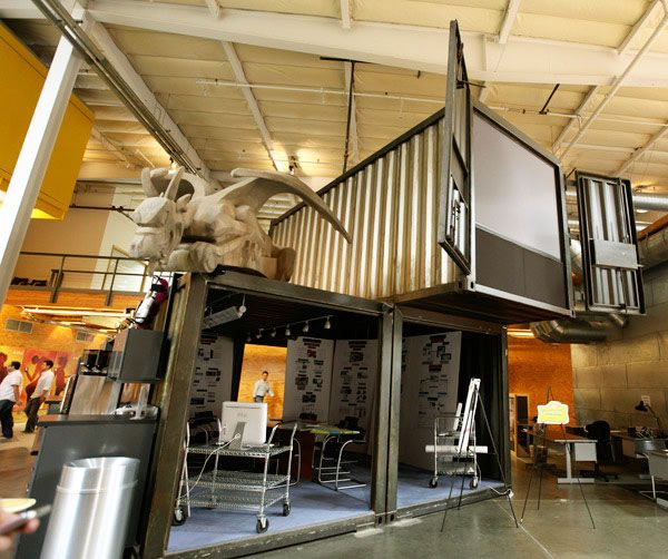 Tbwa Chiat Day Los Angeles Ca Www Tbwachiat Com Shipping Container Office Container Office Container House Design
