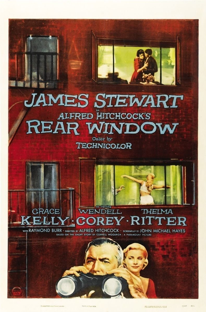 <p>Grace Kelly's second Hitchcock movie, <em>R</em><em>ear Window</em>, was released in 1954, the same year as Dial M for Murder.</p>
