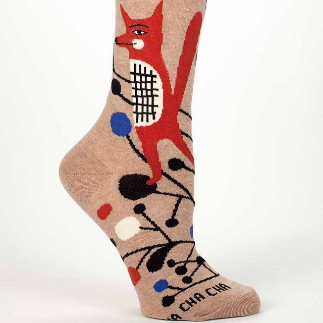"""Hello little foxy! Yes, it's true, we designed some socks for BlueQ! Here's one of the five designs :) #inaluxesocks #blueq #aces"""
