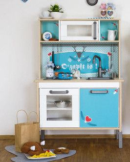 Ikea Kinderküche Pimpen ikea duktig hack ikea kinderküche neues im landhausstil