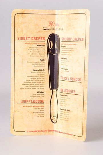 45 inspiring examples of restaurant menu designs