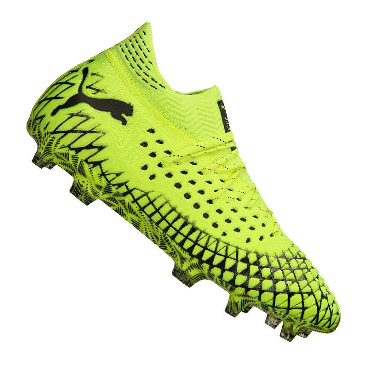 Buty Do Pilki Noznej Puma Future 4 1 Netfit Fg Ag M 105579 03 Zolte Zolte Football Boots Designer Boots Shoe Laces