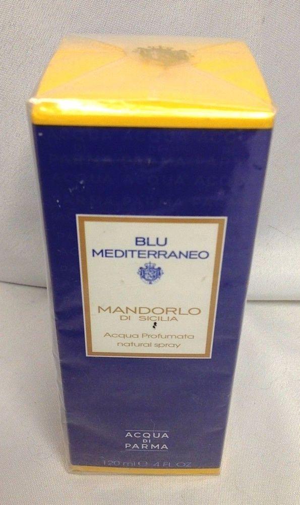 BLU MEDITERRANEO MANDORLO DI SICILIA BY ACQUA DI PARMA EDT SPRAY 120ML / 4 OZ #AcquadiParma