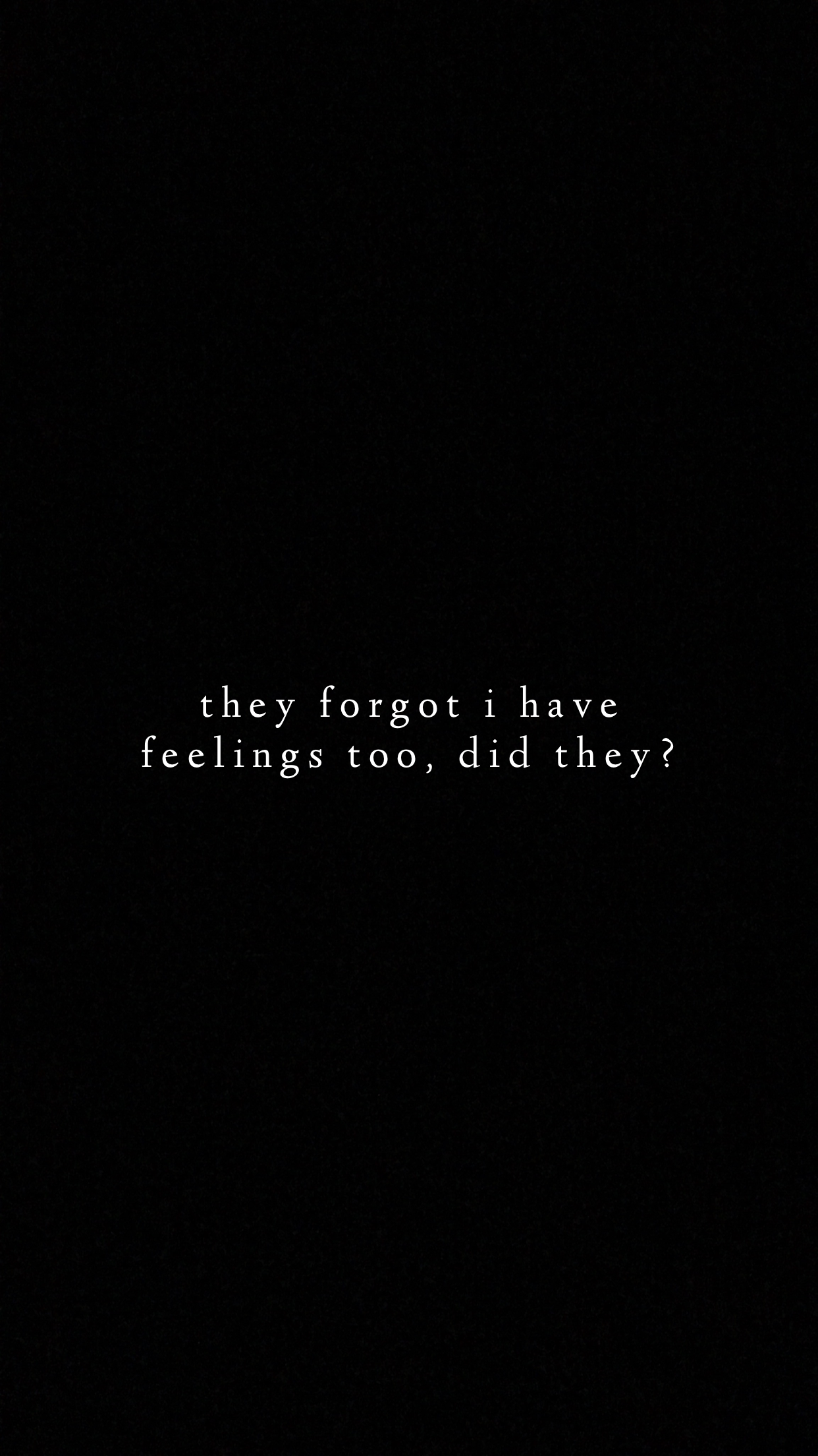 Feelings Black Background Quotes Memes Quotes Words Wallpaper