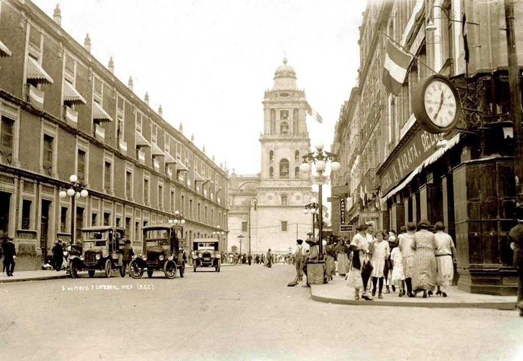 5 de mayo. Años 20   Historia de mexico, México, Ciudad de ...