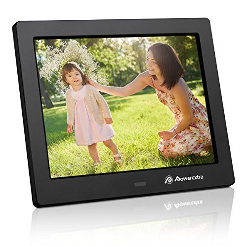 15.4/'/' Digital HD Electronic Picture Photo Frame LCD Screen Video Remote Control