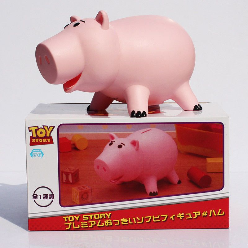 Kids Piggy Bank Cute Pink Pig Coin Saving Gift Banks Safe Cash Money Model Toys