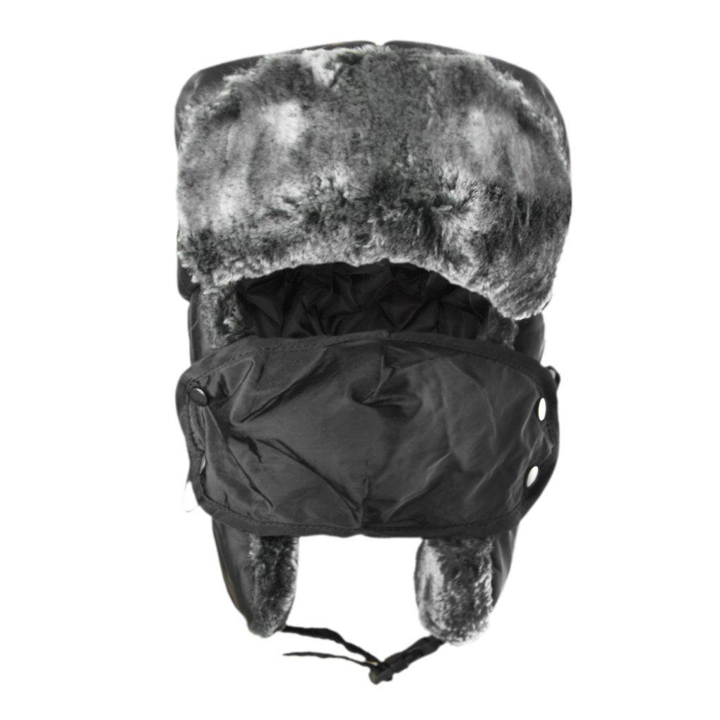 9cff4d7fe24 Unisex Kids Teens Girls Boys Faux Fur Winter Warm Trapper Hat with Ear  Flaps
