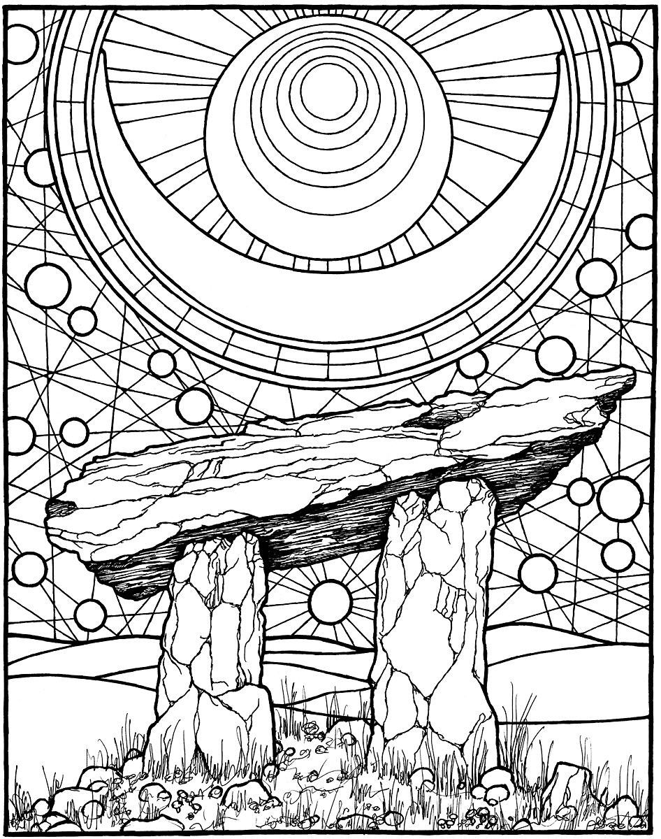 The 23 Best Ideas For Wiccan Coloring Pages For Adults Best Coloring Pages Inspiration And Ideas In 2020 Coloring Pages Abstract Coloring Pages Coloring Books