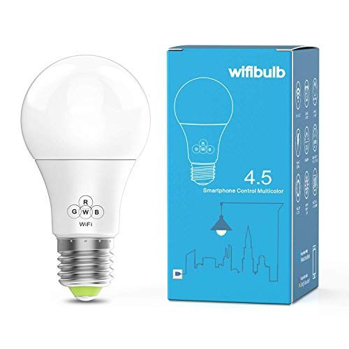 Konxie Led Wifi Smart Lights Bulb Compatible With Alexa And Google Assistant And Ifttt E27 A19