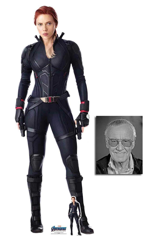 Amazon Com Black Widow From Marvel Avengers Endgame Official Lifesize Cardboard Cutout Fan Pack 170cm X 59cm Includ Black Widow Marvel Marvel Avengers Widow