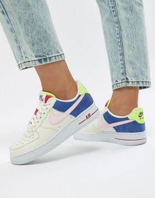 online store 2af30 8ae87 Image 1 of Nike Panache Pack Air Force 1 Trainers