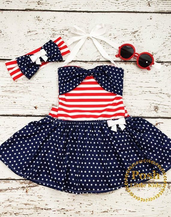 75c5c9b0867f 4th july baby girl outfit