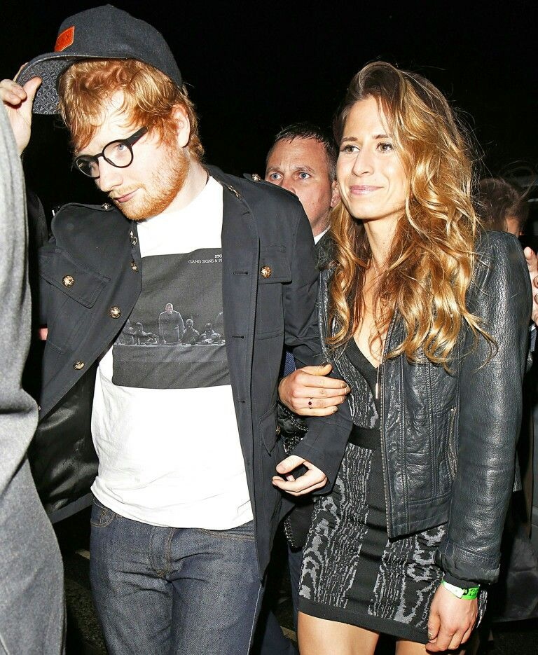 Cherry And Ed On A Night Out In London Ed Sheeran And Girlfriend Ed Sheeran Cherry Seaborn