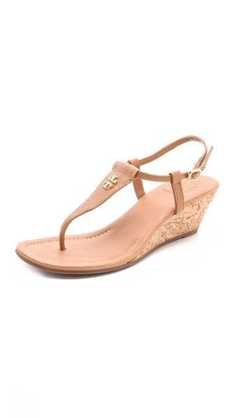 f5fa556a05e21 Tory Burch Britton Wedge Thong Sandals