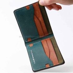 short wallet, billfold, pattern, pdf, pattern #leatherwallets
