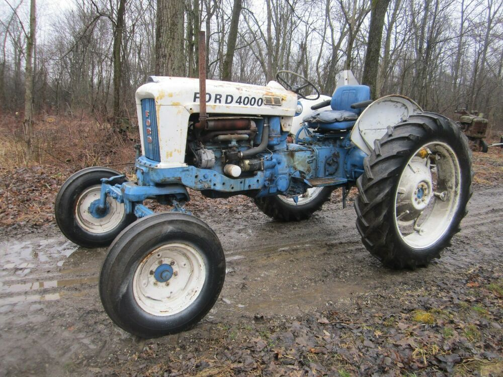 Sponsored Ebay Ford 4000 Row Crop Tractor Selecto Speed With