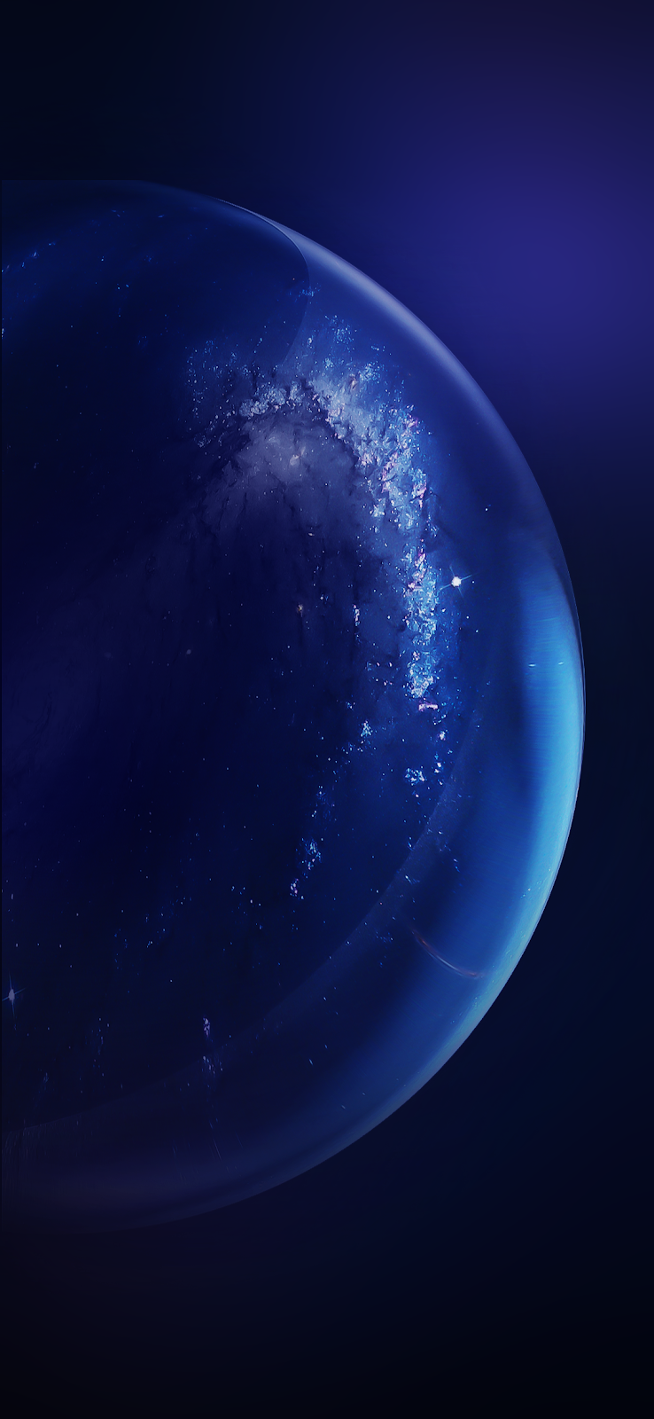 Bubble Glass wallpaper iphone android background