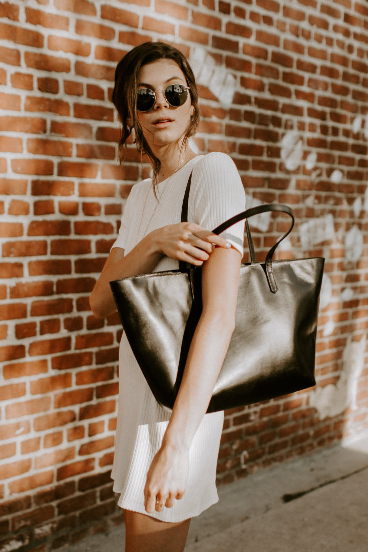 east west tote, black lux   findlay   leather bags in 2019