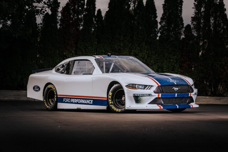 Ford Unveils 2020 Xfinity Series Mustang Will Debut In Daytona
