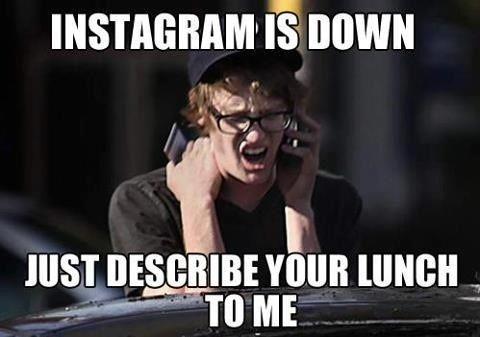 Instagram is down!?