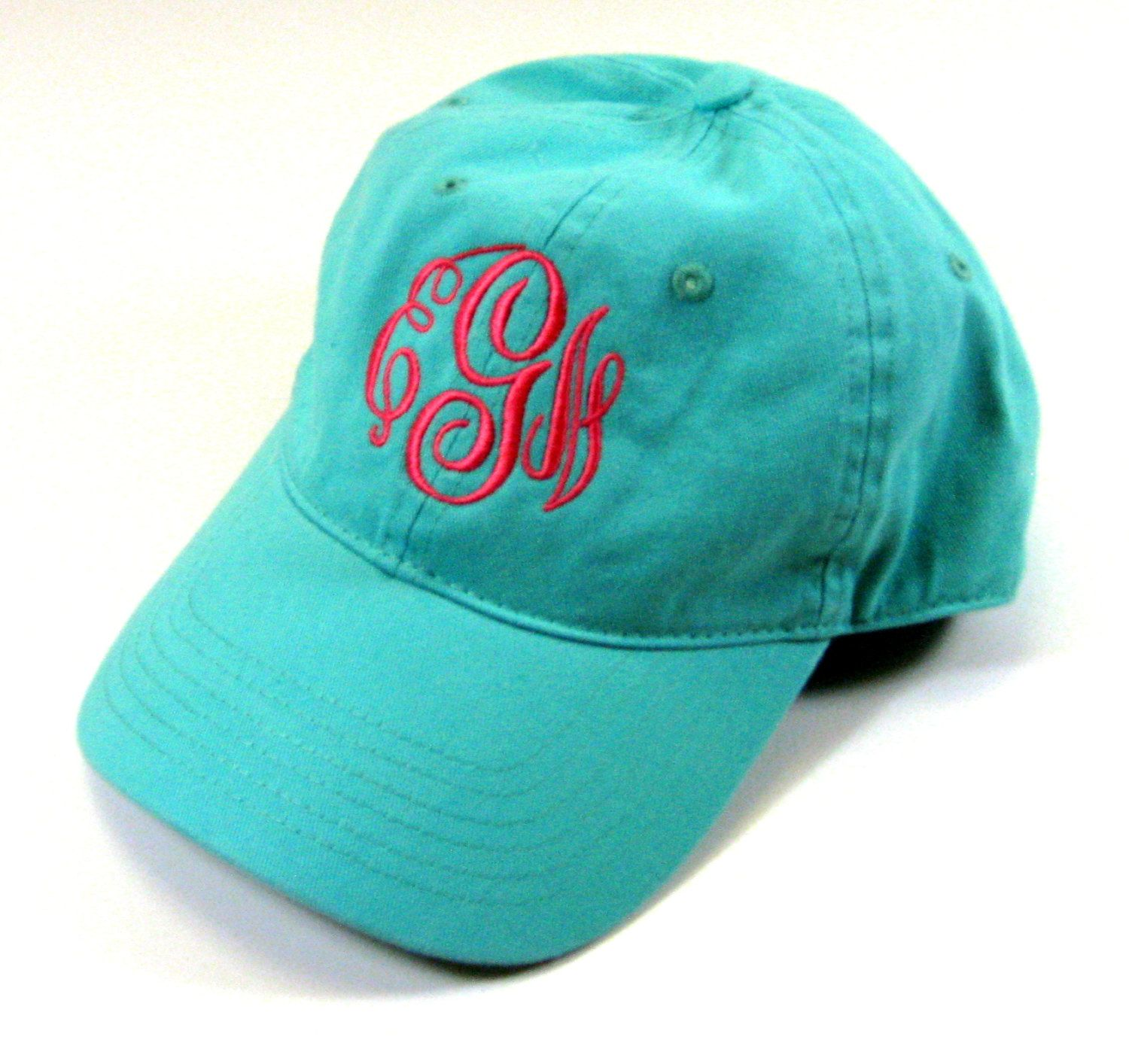 Baseball-Style Cap in Mint Green by jansnstitches on Etsy 174c15bfdeee