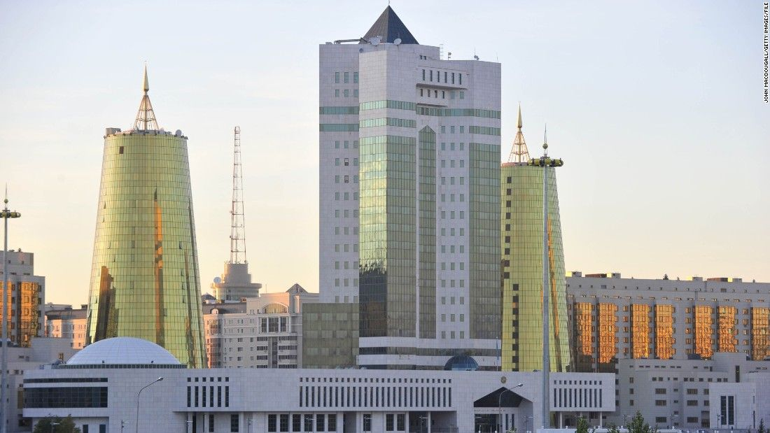 """""""This is a city of the 21st century, the capital of a country that's looking towards the future,"""" said Serik Rustembekov, who runs a privately-owned architecture firm in Astana<br />""""It's constantly developing -- in science and culture -- and we are opening up to the world."""""""
