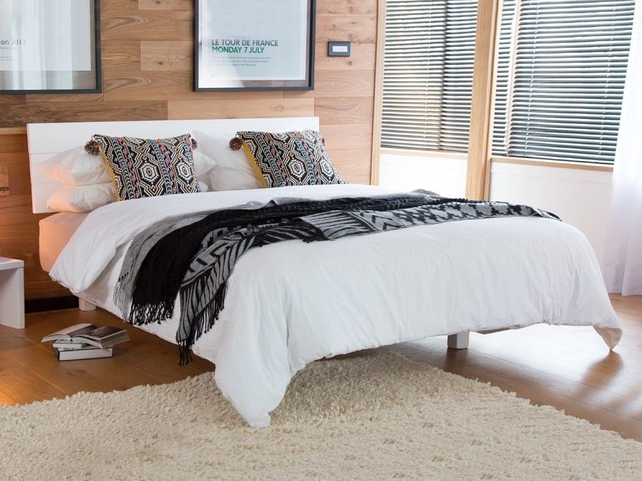 Shoreditch Bed Space Saver Low Bed Frame Wooden Bed Frames