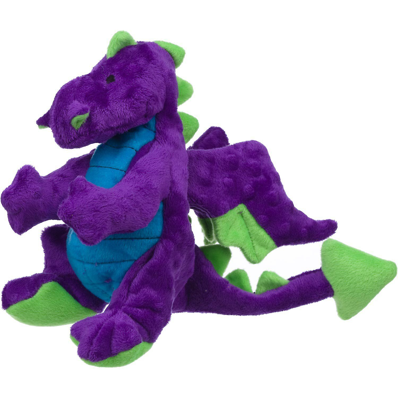 Godog Plush Purple Dragon Dog Toy New And Awesome Product