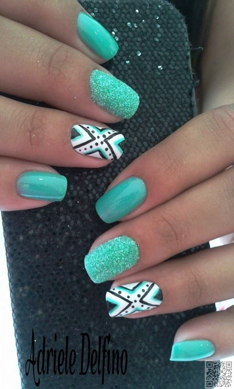 Nail Art Ideas nail art patterns : Wait Till You See These 44 Tribal Nail Art Patterns ... | Unghie