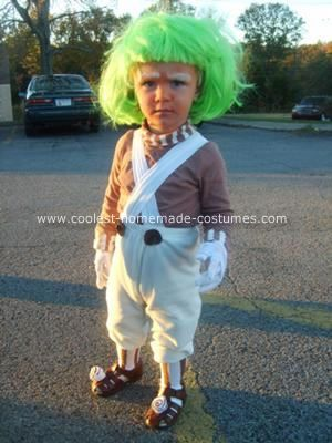 coolest homemade oompa loompa costume - Oompa Loompa Halloween