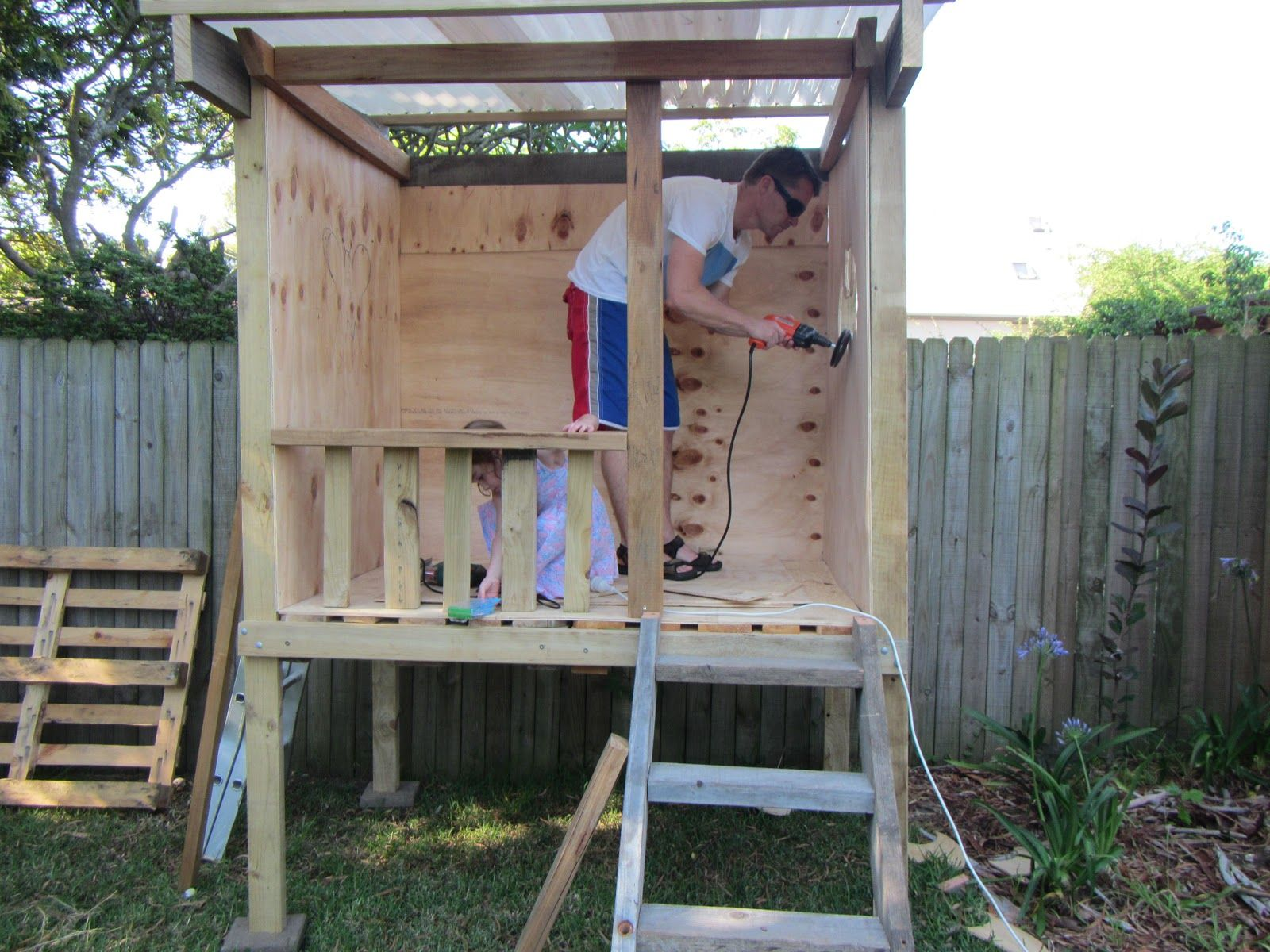 how to build a cubby house for kids - Google Search