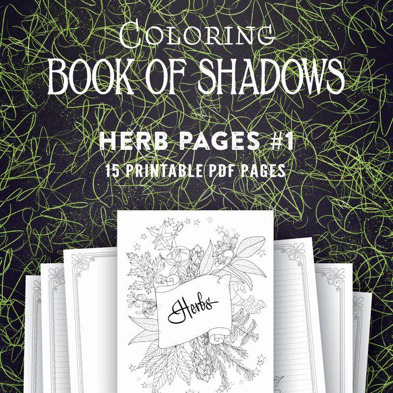 Coloring Book Of Shadows Luxury Printable Book Of Shadows Pages Coloring Book Of Shadows Book Of Shadows Fantastic Cities Coloring Book Book Of Shadow