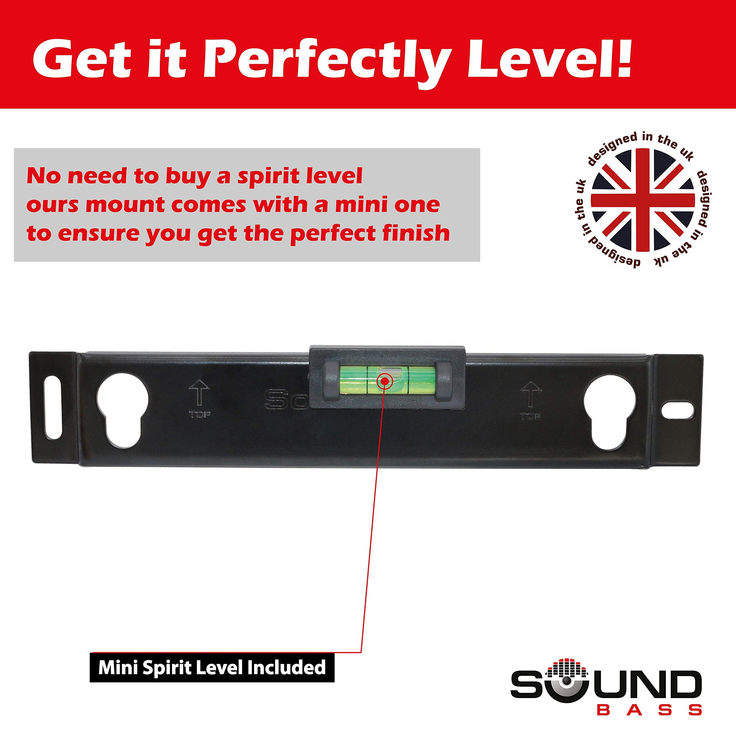 Solo 5 Wall Mount Kit For Bose Solo 5 Complete With All Mounting Hardware Designed In The Uk By Soundbass Kit Bose Mo Speaker Wall Mounts Design Mounting