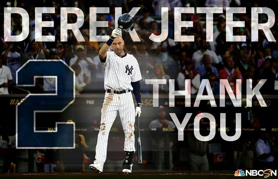 Thank you captain derek jeter yankees baseball new