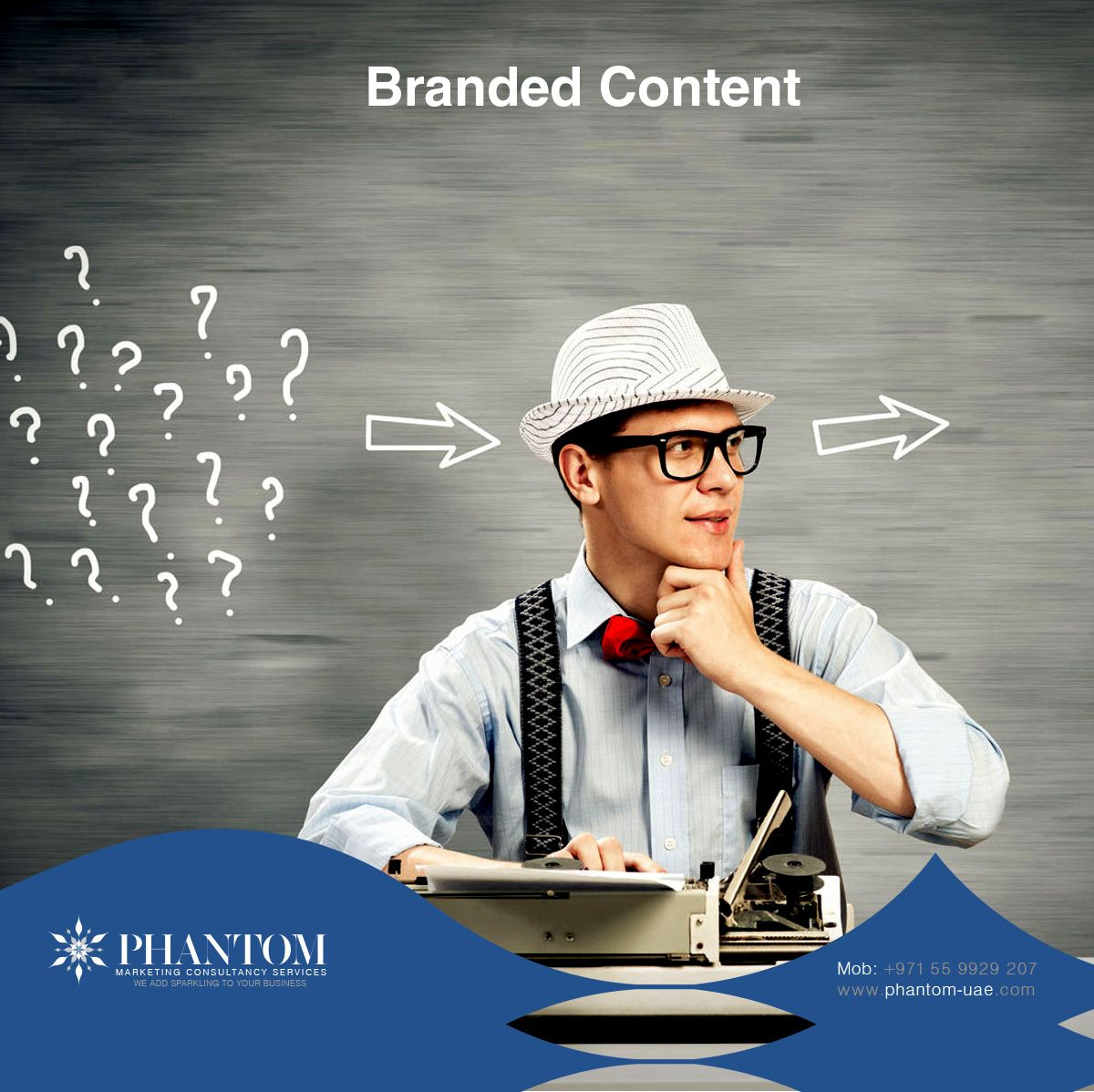 We provide a truly branded content. Choose us for your best!  http://phantom-uae.com/#services