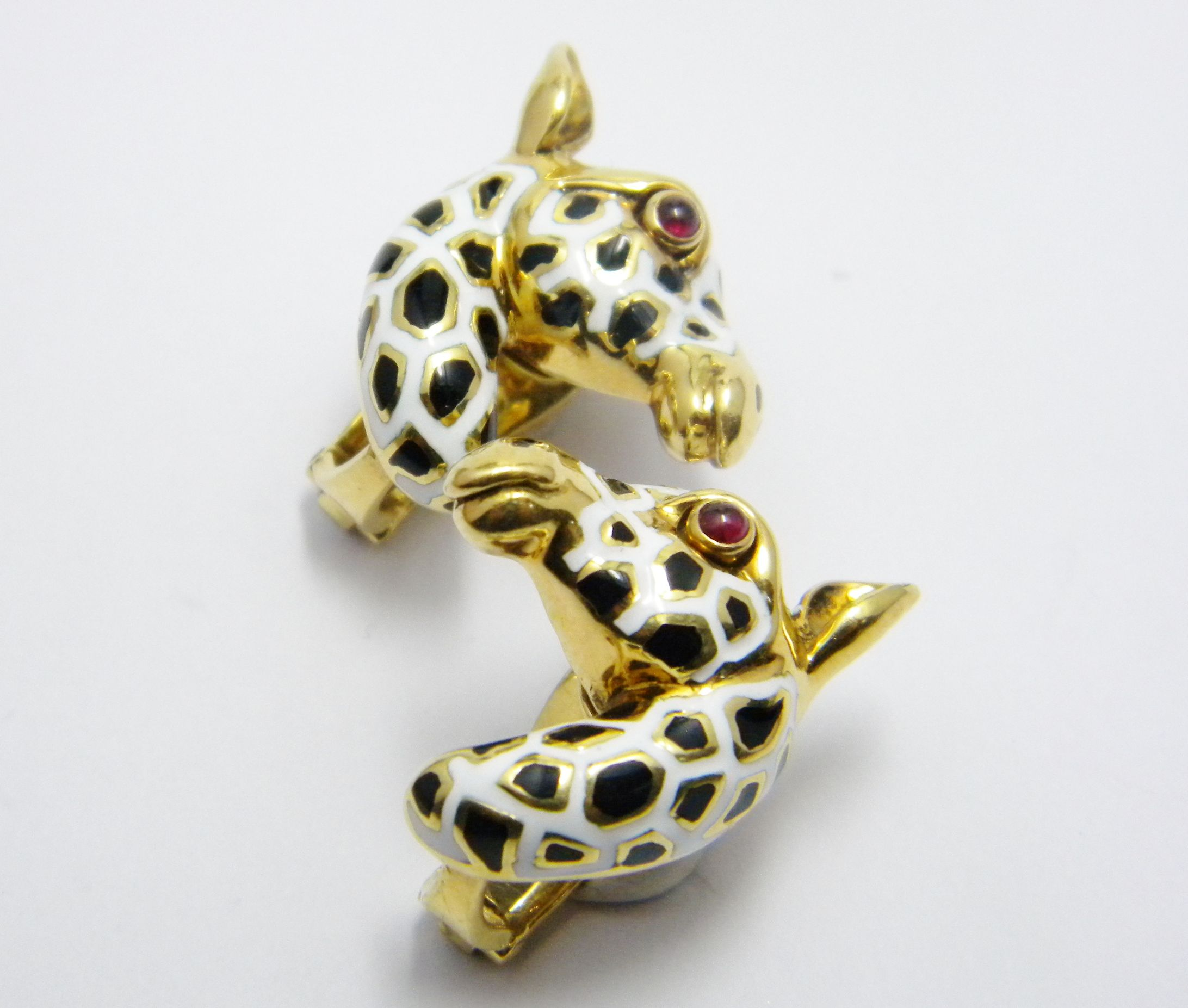 Quirky Giraffe Earrings - SOLD | Sold items (reference ...